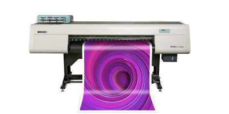 The Fujifilm stand will feature an Acuity LED 1600 II (pictured above), as well as an extensive range of samples produced on the Jet Press 720S.