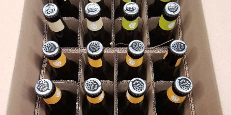"""We were involved right at the beginning to design and develop suitable packaging, which not only had to accommodate Brewhive's speciality bottled beers, it also had to cater for the transportation of drinking glasses aswell."" Ryan Bisland, Account Manager at Antalis Packaging."
