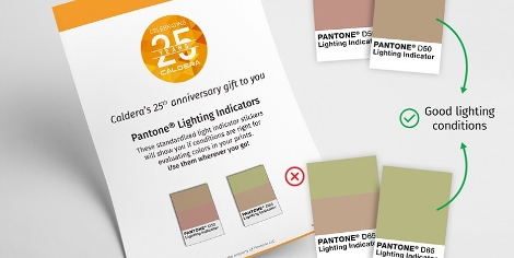 Caldera announces Pantone colour matching gift for V11 adopters