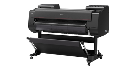 The new Canon 12 and 8 colour professional printers feature unique dual roll technology to support continuous paper feeding and the take-up of print, direct printing from a USB, WIFI connectivity as well as a transparent Chroma Optimiser ink on the 12 colour machine to improve print performance on gloss paper.