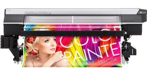 OKI Europe will be showcasing its full range of ground-breaking ColorPainter inkjet printers, including the ColorPainter H3-104s.