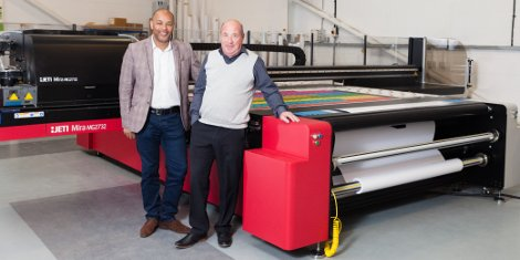 Digital Plus installed a second Agfa inkjet printer just 18 months after investing in an Anapurna M3200i roll-to-roll.