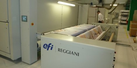 Cestrian Imaging drives growth with EFI Reggiani PRO 340 digital textile inkjet printer