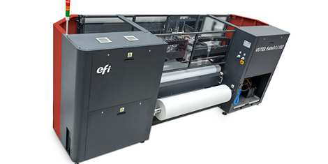 EFI VUTEk FabriVU 180/340 named Best Textile Printer by EDP
