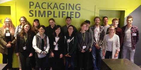 Esko organises Flexible Packaging Honours Class for international young graduates