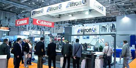 Elitron's production automation hailed as perfect solution for today's digital printing industry at FESPA 2017