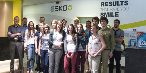 Esko and Artevelde University College Ghent team up for pilot masterclass flexible packaging