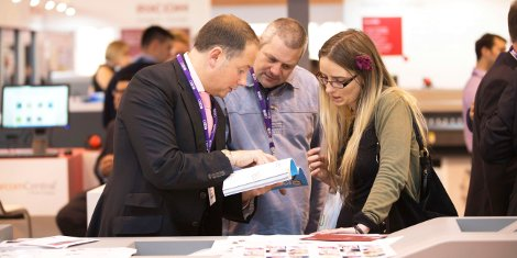 Floorplan - Visitors will see both new and returning exhibitors at The Print Show this year