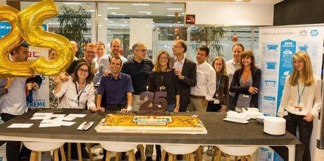 HP DesignJet celebrates its 25th Anniversary