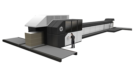 HP PageWide C500 Press with Operator