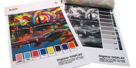 Kiian Digital will launch its most advanced sublimation ink range, the Digistar Display, at FESPA China