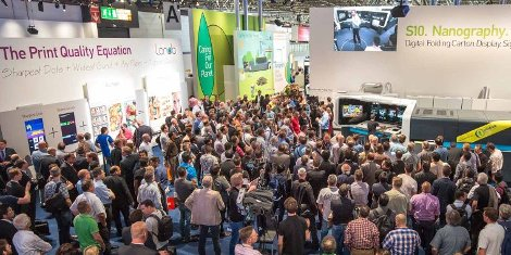 An estimated 200,000 visitors thronged to the Landa stand to catch a glimpse of the live demonstrations of the company's Nanographic Printing presses.