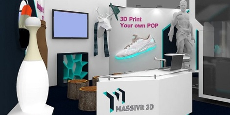 Massivit 3D is set to demonstrate how its large format 3D printing technology is elevating traditional retail and advertising campaigns to a new dimension at EuroShop