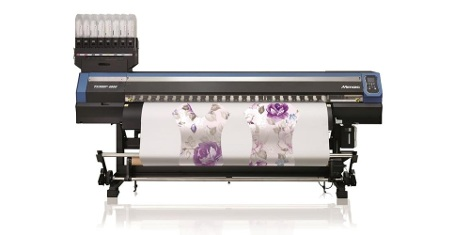 The Mimaki TS300P-1800 1.8m production dye sublimation printer now includes a two year Gold warranty as standard.