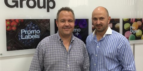 Nigel Tollman, co-director; James Denny, founder & director ProPrint Group