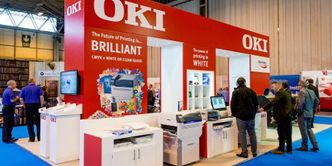 OKI will demonstrate its new range of commercial standard Pro Series printers featuring in-built digital graphic arts technology.