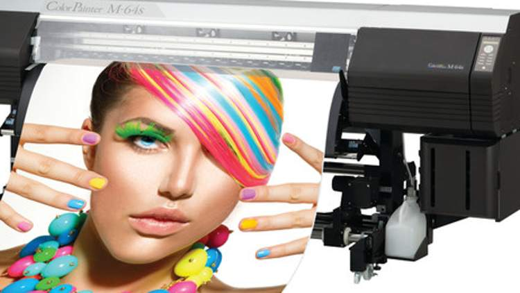 Keypoint Intelligence awards OKI's ColorPainter M-64s wide-format inkjet printer in the CMYK category.