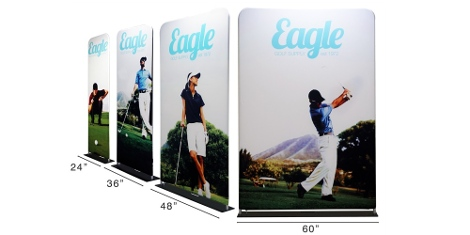 Paradigm Display Solutions have added a series new Tubular displays stands based on their popular line of Fabrilyte display products to their E-commerce store.