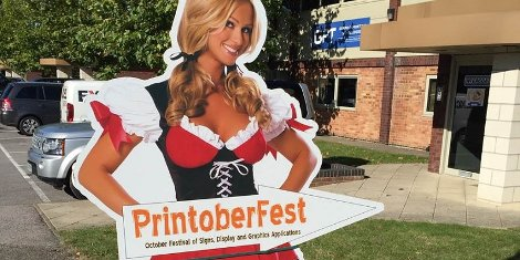 It's not too late - Printoberfest runs until 4.30pm today at GPT's showrooms in Reading!