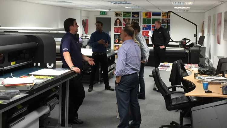 The event held on 4th and 5th October was an excellent opportunity for customers and new companies to GPT to see the latest printers from Mimaki and HP, media from Mactac and 3M and much more.