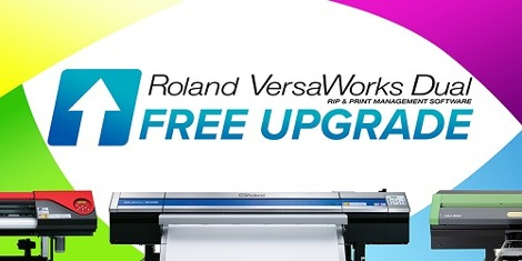 Roland DG Corporation today has launched a programme enabling customers to upgrade their existing eligible devices to its powerful Roland VersaWorks Dual RIP software, free of charge.