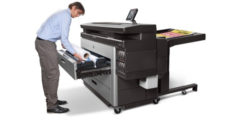 Taking pride of place on the SMGG's stand will be the HP PageWide XL 8000 Printer