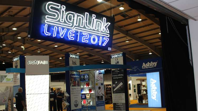 SignLink Live was entirely focused on sign-making, with wide-format printing based next door at The Print Show.
