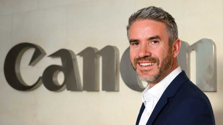 Canon UK has announced the promotion of Stuart Rising to Head of Commercial Printing.
