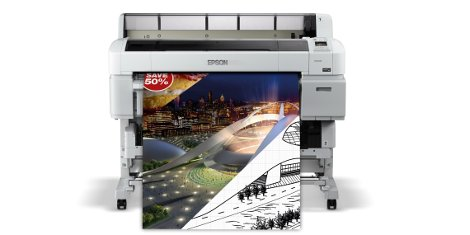 SureColor SC T5200D from Epson, new upgradeable features will be demonstrated for the first time at drupa 2016