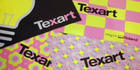 The Texart fluor ink allows Texart users to add many creative colours to their output ideal for sportswear in areas such as motocross, mountain bike, BMX, athletics, skiing or cycling alongside eye-catching fabric banners, flags or textiles for fashion.