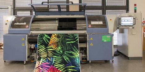 The Monna Lisa digital textile printer