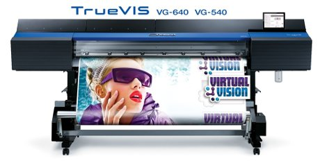 "Roland DG announce launch of the TrueVIS VG-640/540 64"" and 54"" printer/cutters"