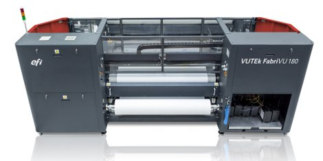 i-Sub has added the EFI VUTEk FabriVU 180 (pictured) and 340 high resolution fabric printers to its portfolio