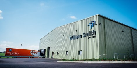 William Smith new purpose-built warehouse is based at Stainton Grove, close to the company's Barnard Castle base.