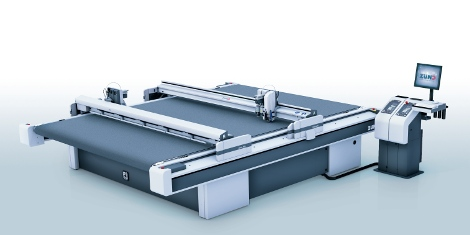 The new Zünd D3 cutting system offers superb cutting accuracy across the entire working area, maximum modularity, user-friendly operation and the</p width=