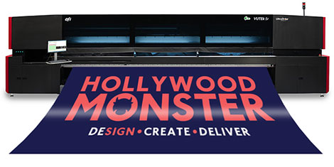 Hollywood Monster growth continues as UK's first EFI VUTEk 5r is installed by CMYUK