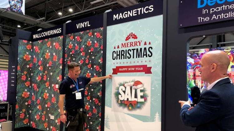 Chris Green, Head of Channel Visual Communications for Antalis, is urging commercial printers and signmakers who aren't already doing so to add window signage to their proposition amid a recent spike in demand.