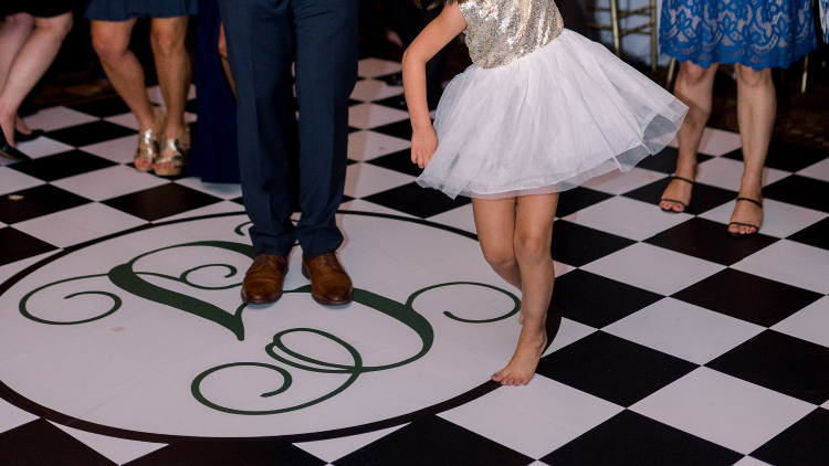 Drytac blog: Say I do to customized wedding floors.