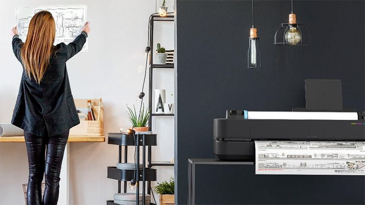 To see the same number of clients and do the same number of jobs, we need to adapt. HP's new large-format printers are designed for a new socially distanced world.