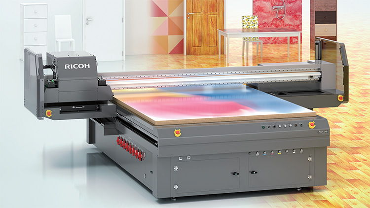 Ricoh blog: Why UV flatbed print is top of the industry's shopping list.