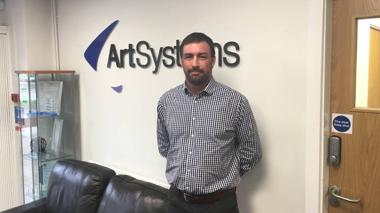 Russell Harpham has been appointed as the new Sales & Marketing Director for ArtSystems.