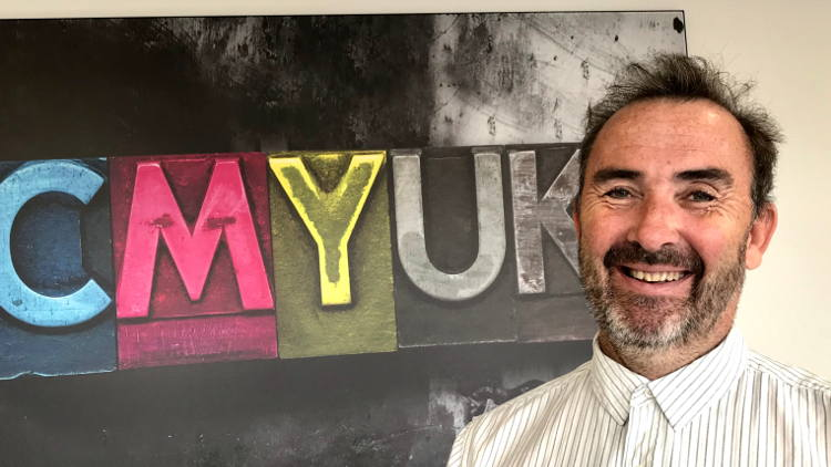 CMYUK appoints Tim Boore as Senior Digital Sales Consultant.