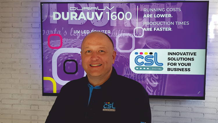 CSL Digital appoints Nigel Briggs as new National Sales Manager for UK.