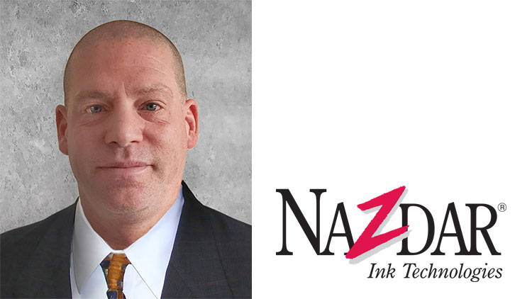 Nazdar Ink Technologies has announced the appointment of Martin Burns to the position of Business Development Manager for OEM inks.