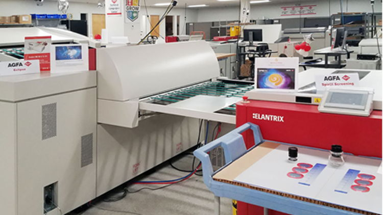 Agfa opens new Offset Technical Competence Center in Wilmington MA.