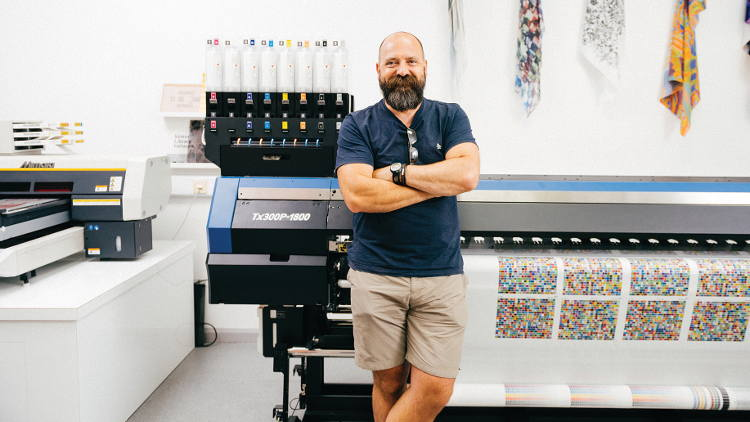 Mimaki printers help University of Huddersfield unlock students' creative potential.