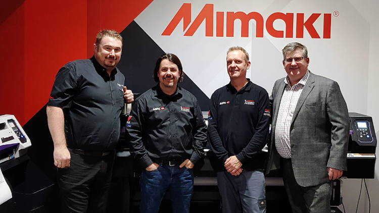 Hybrid announces appointment of Josero as Mimaki Sign & Graphics Authorised Partner.