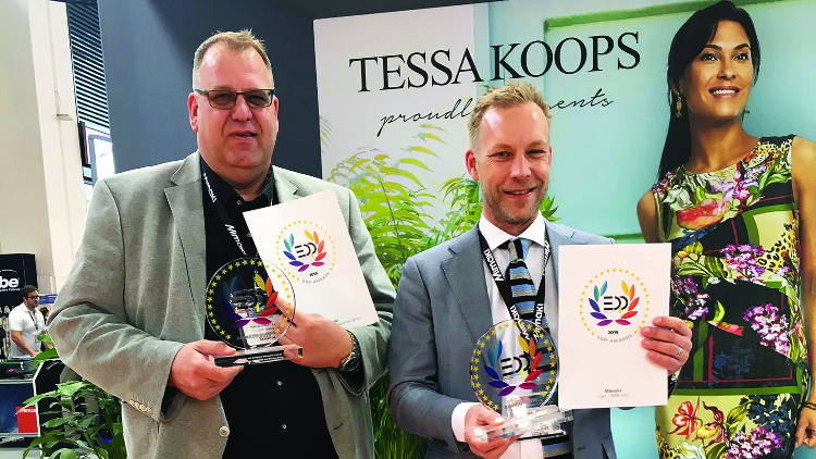 Mimaki Tiger-1800B MkII Scoops two EDP Awards at FESPA 2019.