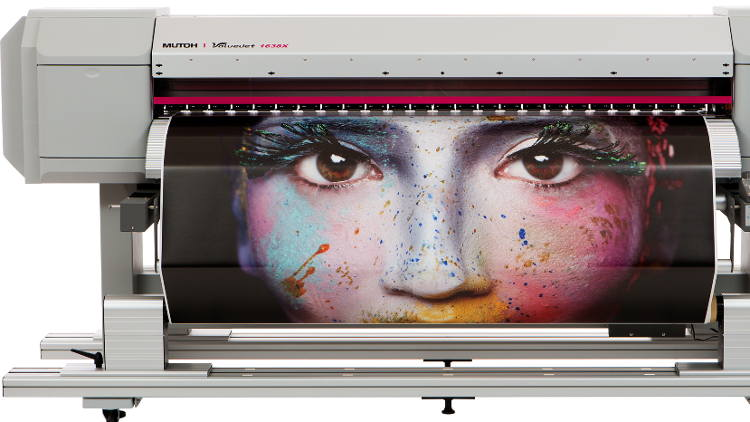 MUTOH Deutschland & MCP partners at Viscom Dusseldorf 2019.