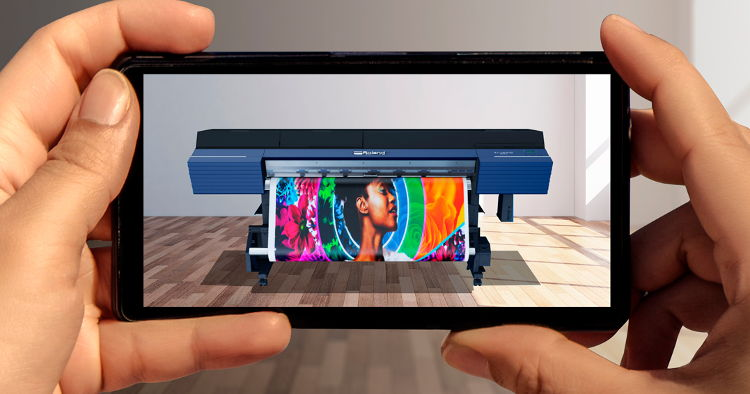 Immersive Digital Platform to Showcase Spectrum of Roland DG Products, Starting with TrueVIS Printer/Cutter Series.